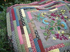Fleurs indiennes patchwork by Les photos de Vero, via Flickr