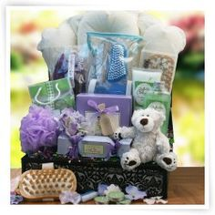 Spa Indulgence Gift Basket