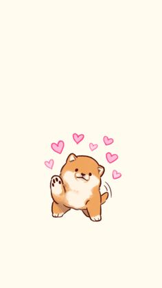 Pin The Only Doris On Wallpapers In 2019 Kawaii in Awesome Cartoon Dog Wallpapers Cute Wallpaper Backgrounds, Wallpaper Iphone Cute, Animal Wallpaper, Screen Wallpaper, Cute Dog Wallpaper, Drawing Wallpaper, Unique Wallpaper, Perfect Wallpaper, Wallpaper Ideas