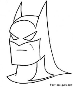 printable Superheroes batman coloring pages - Printable Coloring Pages For Kids