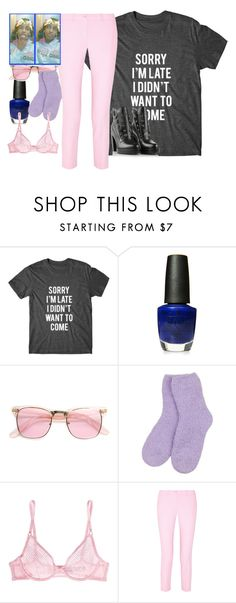 """""""beauitful  strong  woman  friend  don't ever  let words bring"""" by inspiredbyart345 ❤ liked on Polyvore featuring OPI, ZeroUV, L'Agent By Agent Provocateur, Michael Kors and Diesel"""