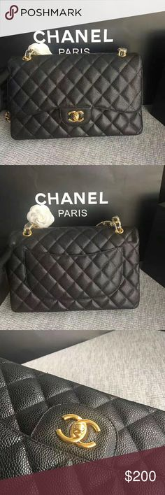 94cc91c48aa6 Pls read description Chanel flap bag Brand new Chanel bag Comes with box  dust bag and authenticity card Not authentiiiiiiiic To purchase or for  serious ...