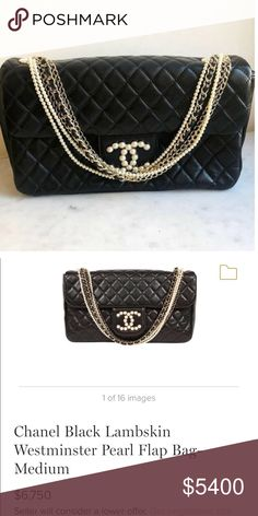 3c91dbbba346dc Chanel Lambskin Limited Edition with Pearls New condition,has never been  worn.My last price on Poshmark❌Dust bag and authenticity card comes with  the bag.
