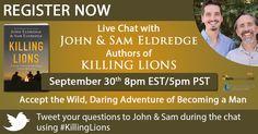 Author Chat with John & Sam Eldredge