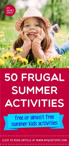 Frugal summer activities for kids