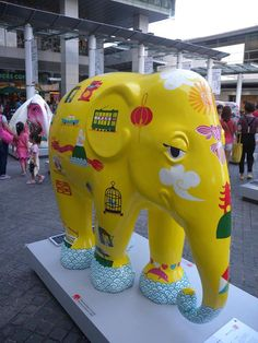 Elephant Parade - Let's paint a brighter future! » cities » Hong Kong 2014. Elephant Parade has landed in HK starts from now until 9-Sep.