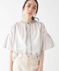 Korean Fashion Dress, Fashion Dresses, Blouse Patterns, Blouse Designs, Ethnic Fashion, Womens Fashion, Mature Fashion, Fashion Photo, Maje