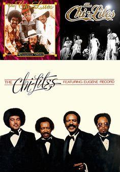"The Chi-Lites — Original Members: Eugene Record, Robert ""Squirrel"" Lester, Marshall Thompson & Creadel ""Red"" Jones"