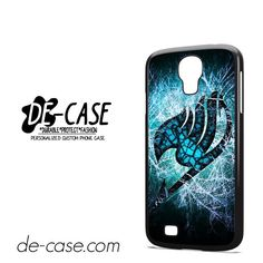 Fairy Tail Logo Lightning DEAL-4029 Samsung Phonecase Cover For Samsung Galaxy S4 / S4 Mini