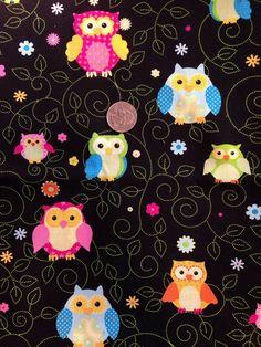Auto Car Trash Bag or Organizer Black with Owls on Etsy, $10.00
