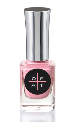 Only Fingers and Toes Nail Polish Colour Spanky. Pink Nails.