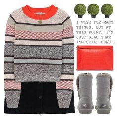"""I'M STILL HERE"" by emmas-fashion-diary ❤ liked on Polyvore featuring Superdry, Bottega Veneta, UGG Australia, Loewe and Sia"