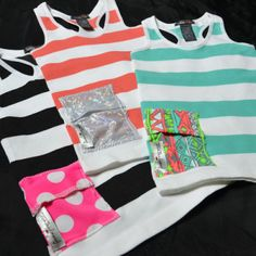 As seen on D-Mom Blog: Pocket Innerwear T1D Techwear  Tank tops with pockets to hold insulin pumps and continuous glucose monitors for people with type 1 diabetes.