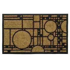 The Frank Lloyd Wright Coonley Playhouse Doormat is adapted from the Avery Coonley House, Riverside, IL (1908-1912). The Avery Coonley House, Riverside, IL (1908-1912) was designed for Avery and Queene Coonley. | eBay!