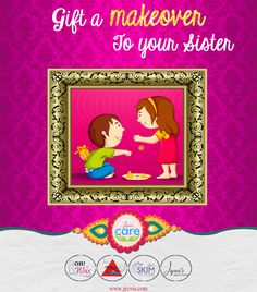 How about #gifting a classy #makeover to your brother or sister ????  On this #rakshabandhan, Celebrate the Festival of togetherness, nostalgic childhood memories, unlimited fights with your siblings and infinite love for each other with Jyovis ...  Its time to create some long last Valid till 10th September 2015 To Book Appointment, call : 02242147788 / 02224217707 visit : www.jyovis.com #Beauty #love #togetherness #sister #rakhi #rakshabandhan #bond #InfiniteLove