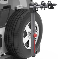 Monsta 4x4 Discovery 1 Defender Spare Wheel Mounted 4 Bike