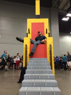 By the end of @RTXevent, the Mad King assumed his rightful place on the throne. #RTX2015