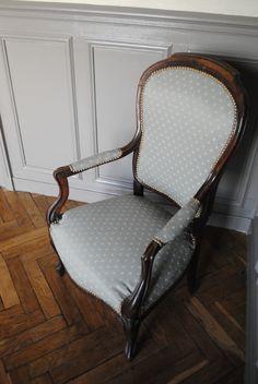 DIY Retapisser un fauteuil - 12