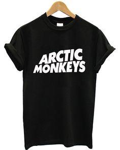 Hot Arctic Monkeys Premium Logo Printed Supreme Men Cotton T Shirt Tee - AR1