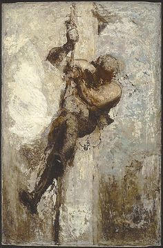 Honoré Daumier   Man on a Rope   The Met