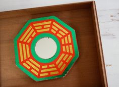 Feng Shei  Vintage GOOD LUCK Asian BaGua PaGua by CitizenNEST