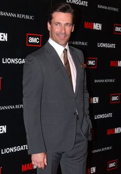 Jon Hamm - I'm only completely in love with this man.