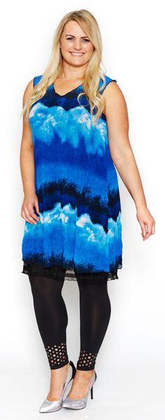 Dresses & Tunics : Clarity Crinkle Mesh Tunic