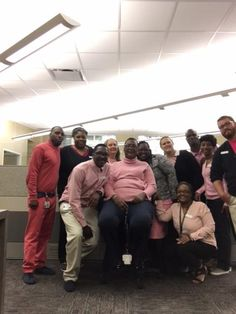 to support a staff member that just beat breast cancer. Pink Out, Sheriff Office, Breast Cancer, Day