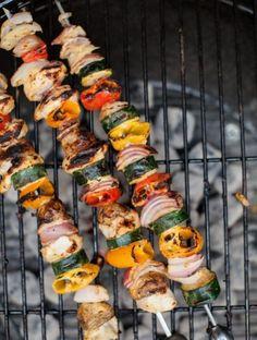 Veggies Kebabs from Naturally Ella