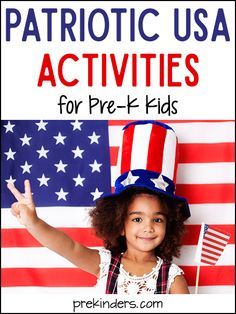 Pre-K & Preschool theme ideas for learning about the USA Books American Flags {Art} We make a United States flag with a piece of white construction paper as the base. Children glue on strips Preschool Lesson Plans, Preschool Curriculum, Preschool Themes, Preschool Classroom, Preschool Crafts, Preschool Learning, Homeschool, Independance Day, List Of Activities