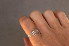 Acoustic Guitar Ring - unique jewelry for a music lover by Dreaming Tree Creations