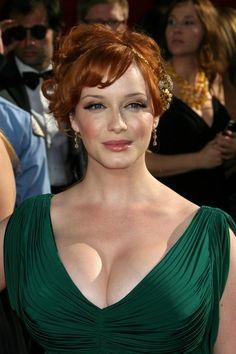 Christina Hendricks Photos: The 60th Primetime Emmy Awards - Red Carpet Arrivals