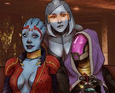 Source: alexschlitz-Snapshots from the Citadel party.- Mass Effect