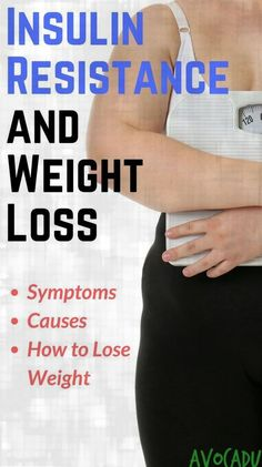 Insulin resistance and weight loss... How are they related? Insulin resistance is related to diabetes and can make it incredibly difficult to lose weight. #losebellyfat #weightlossforwomen #healthyweightloss
