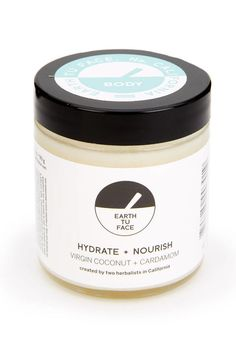 Coconut oil is liquid at 76 degrees—so this pure and decadent cream becomes a silky oil treatment on steamy summer days. Earth Tu Face Body Butter with Coconut Oil and Cardamom, $42, earthtuface.com.   - HarpersBAZAAR.com