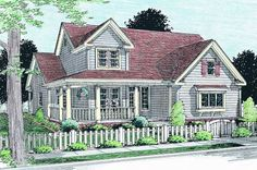 Plan No.246314 House Plans by WestHomePlanners.com