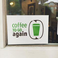 ihr habt einen thermobecher? könnt ihr bei uns auffüllen.  #coffeetogoagain…