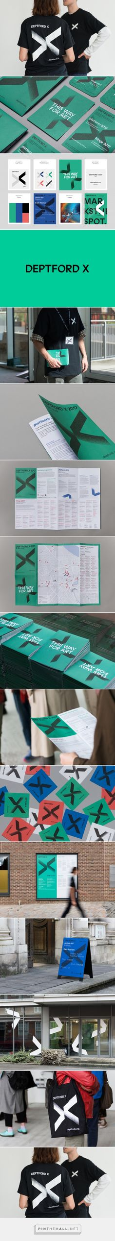 New Logo & Branding for Deptford X by IYA Studio — BP&O... - a grouped images picture - Pin Them All