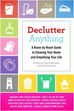 How to declutter and organize without feeling overwhelmed.