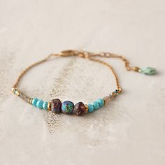 Garnet Trio Bracelet