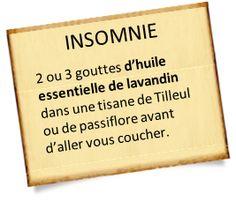 Huile essentielle de lavandin : Une recette pour l'insomnie