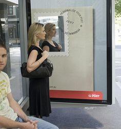 24 Unique Examples of Creative Bus Stop Advertising Guerilla Marketing Photo Bus Stop Advertising, Guerrilla Advertising, Clever Advertising, Advertising Design, Advertising Campaign, Advertisement Examples, Social Campaign, Guerilla Marketing, Street Marketing