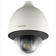 Samsung Network PTZ camera, lens, PoE full HD product meets the large package requirement per UPS/FedEx. Surveillance Equipment, Surveillance System, Best Security Cameras, Security Technology, Ptz Camera, Video Security, Outdoor Camera, Samsung, Dome Camera