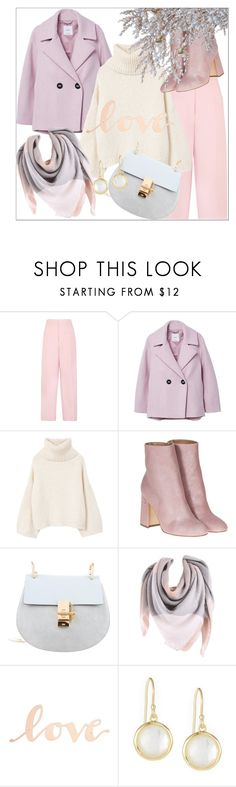 """Pastel colors"" by fishshow ❤ liked on Polyvore featuring Joseph, MANGO, Laurence Dacade, Primitives By Kathy, Ippolita and winterstyle"