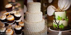 Beautiful wedding cupcakes and cakes! Tollgate Farm wedding