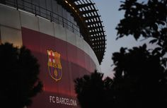 A general view outside the stadium prior to  the UEFA Champions League Round of 16 second leg match between FC Barcelona and Paris Saint-Germain at Camp Nou on March 8, 2017 in Barcelona, Catalonia.