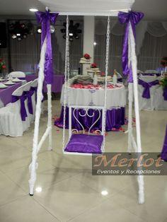 silla de quinceanera | Culumpio silla quinceañera color lila salones eventos fiestas ...