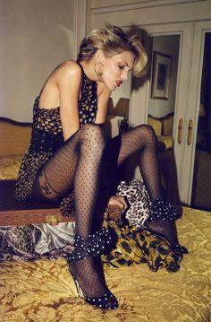 Anja Rubik by Terry Richardson for Vogue Paris June/July 2009