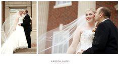 Precious!   Kristina Gaines Photography   Kenneth Winston Style 1375 #kennethwinston  #realbride