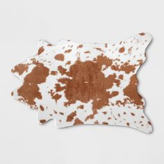 Project 62 : Home Decor : Target Animal Skin Rug, Cow Rug, Knit Rug, Polyester Rugs, Rug Material, Cow Print, Projects, Doormat, Contour